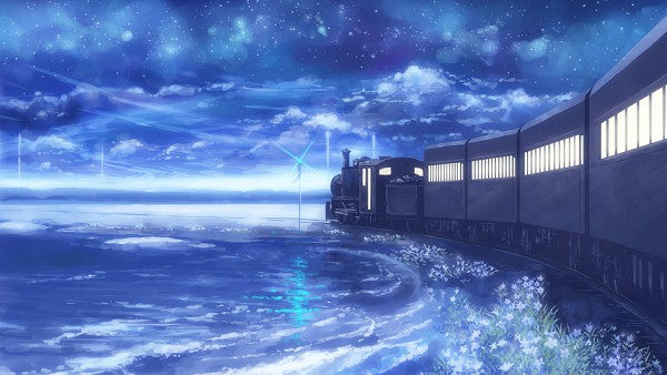 Tags: Anime, Isou Nagi, No Character, Pixiv, Original, Facebook Cover