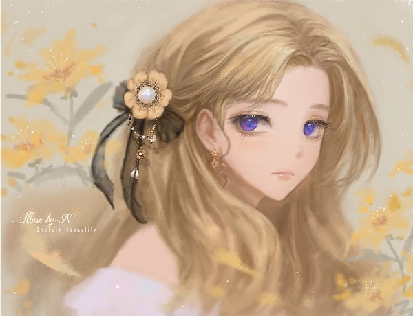 Tags: Anime, Issac Lily, Pixiv, Original, Facebook Cover
