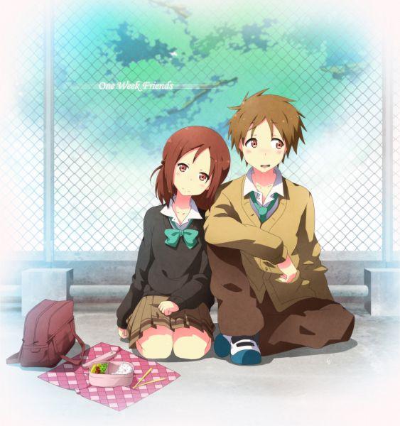 Tags: Anime, Pixiv Id 7838526, Isshuukan Friends., Fujimiya Kaori, Hase Yuuki