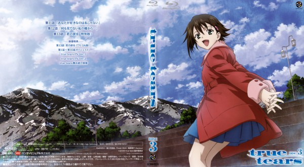 Tags: Anime, P.A. Works, True Tears, Isurugi Noe, DVD (Source), Official Art, Wallpaper, Scan