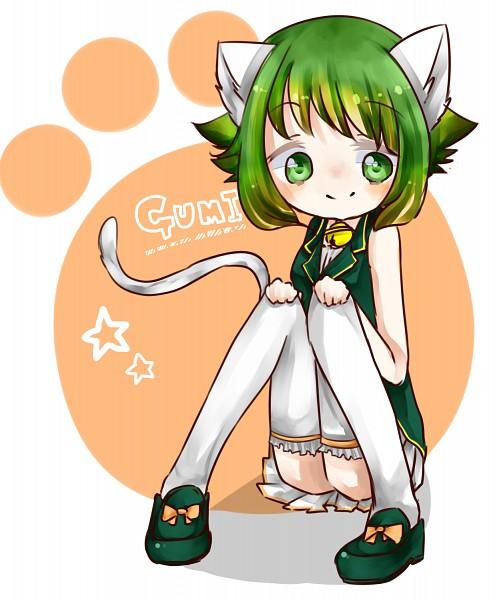 Tags: Anime, Pixiv Id 2179987, VOCALOID, GUMI, Pixiv, It's a Wonderful Cat Life
