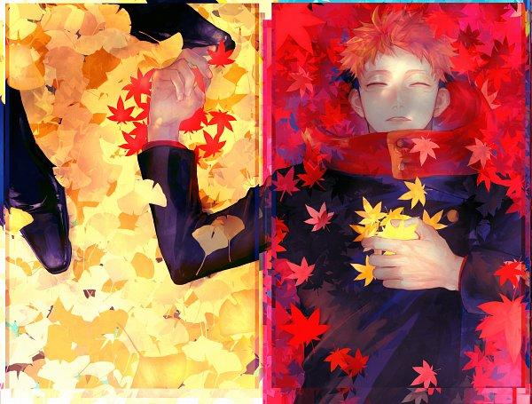 Tags: Anime, Pixiv Id 13584335, Jujutsu Kaisen, Itadori Yuuji, Ginkgo Biloba