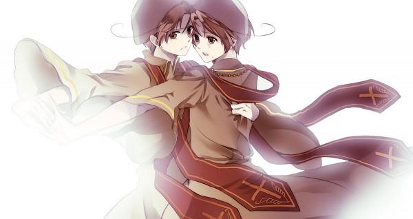 Tags: Anime, Suzushiro, Axis Powers: Hetalia, Romaheta, South Italy, North Italy, Facebook Cover, Italy Brothers