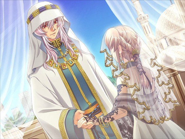 Tags: Anime, Tiaramode, Itoshi no Ouji-sama, Said Bin Jashim, Himemiya Nagisa, CG Art