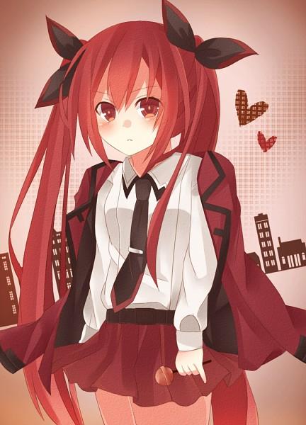 Tags: Anime, Pixiv Id 4129825, Date A Live, Itsuka Kotori, Mobile Wallpaper