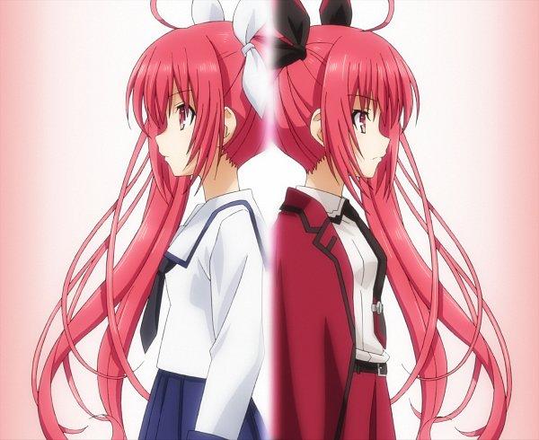 Tags: Anime, Date A Live, Itsuka Kotori, Same People, Stitched Screenshot, Screenshot