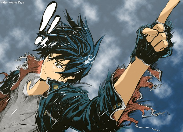 Tags: Anime, Oh! Great, Toei Animation, Air Gear, Itsuki Minami