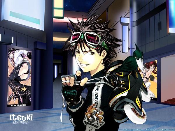 Tags: Anime, Air Gear, Itsuki Minami, Roller Skates