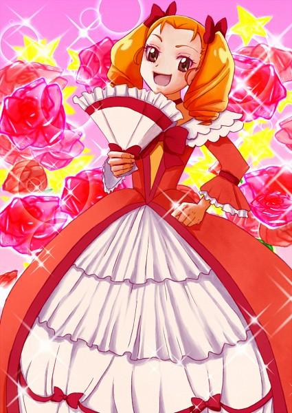 Tags: Anime, Amawa Kazuhiro, Dokidoki! Precure, Itsutsuboshi Reina, Gown, Pixiv, Fanart, Fanart From Pixiv