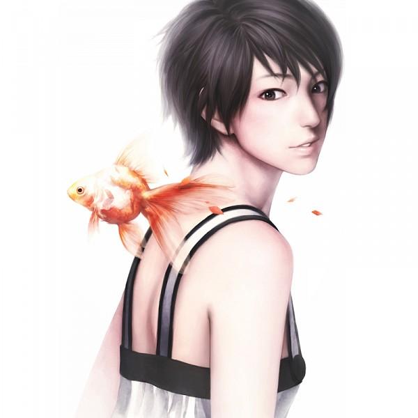 Tags: Anime, Iwai Ryo, Surreal, Original, Pixiv