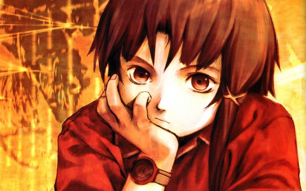 Tags: Anime, Serial Experiments Lain, Iwakura Lain, Yellow