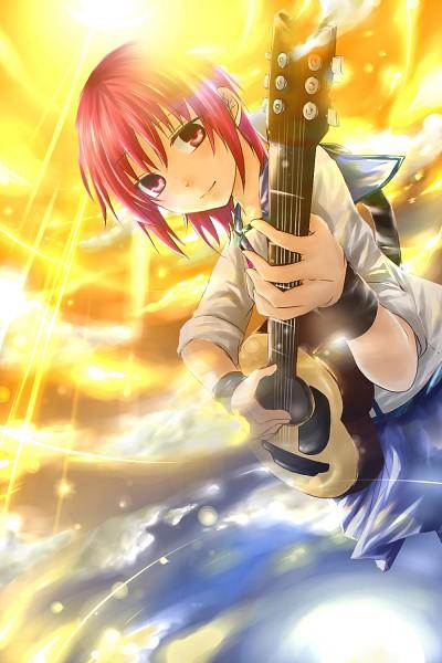 Tags: Anime, Koto Mirai, Angel Beats!, Iwasawa Masami