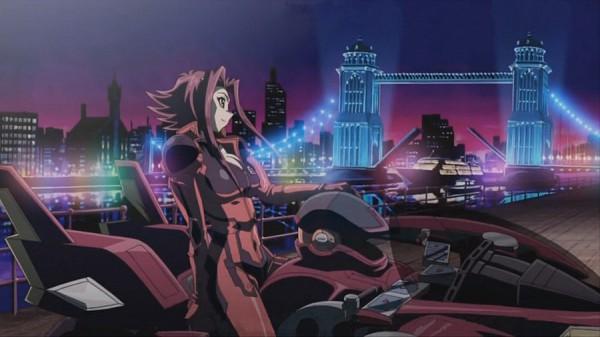 Tags: Anime, Yu-Gi-Oh! 5D's, Yu-Gi-Oh!, Izayoi Aki, Screenshot, Akiza Izinski