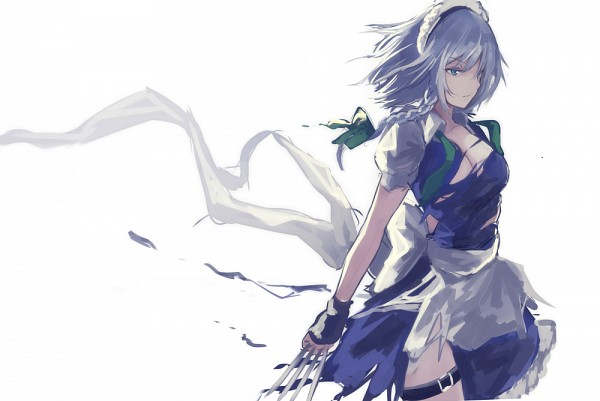 Tags: Anime, Naka Ichigouki, Touhou, Izayoi Sakuya, Twitter, Fanart, Fanart From Pixiv, Pixiv, Sakuya Izayoi