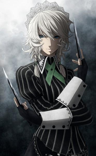 Tags: Anime, Imizu (Nitro Unknown), Touhou, Koumajou Densetsu, Izayoi Sakuya, Mobile Wallpaper, Sakuya Izayoi