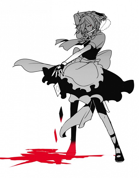 Tags: Anime, Chikage (Kinokodou), Touhou, Izayoi Sakuya, Pixiv, Fanart, Sakuya Izayoi