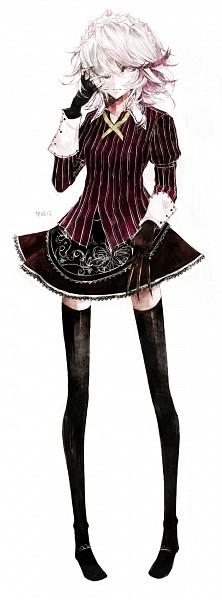 Tags: Anime, Moemoe3345, Touhou, Koumajou Densetsu, Izayoi Sakuya, Fanart From Pixiv, Fanart, Pixiv, Sakuya Izayoi