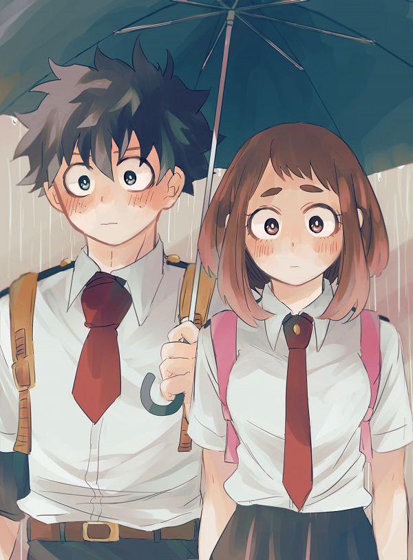 Tags: Anime, Pixiv Id 3559814, Boku no Hero Academia, Uraraka Ochako, Midoriya Izuku, Fanart From Pixiv, Pixiv, Fanart, IzuOcha