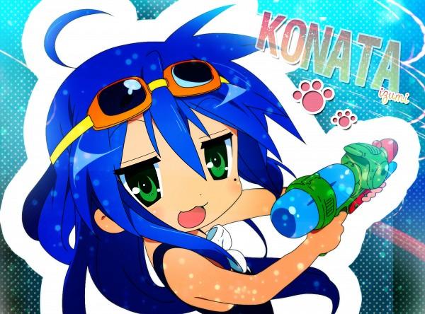 Tags: Anime, Lucky☆Star, Izumi Konata, Wallpaper