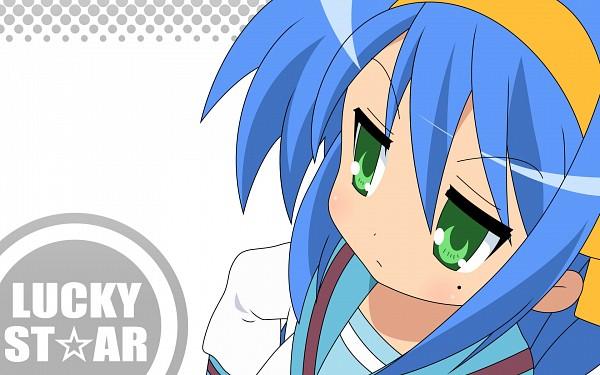 Tags: Anime, Lucky☆Star, Izumi Konata, Suzumiya Haruhi (Cosplay), Wallpaper