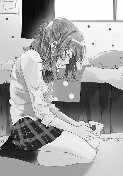 Tags: Anime, Flyco_, Jaku Chara Tomozaki-kun, Izumi Yuzu (Jaku Chara Tomozaki-kun), Novel Illustration, Official Art