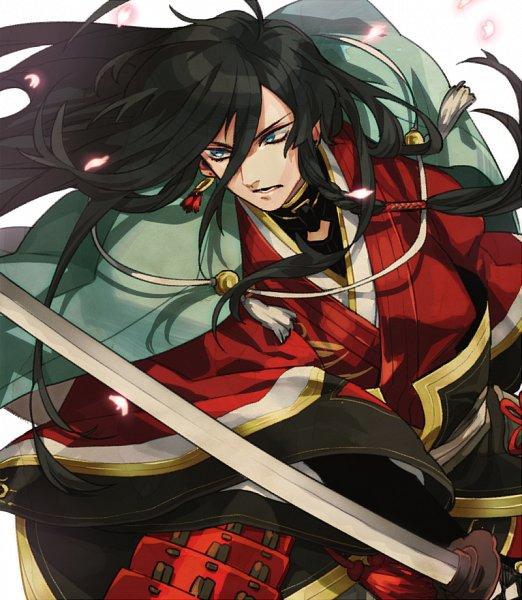 Tags: Anime, Rmkn, Touken Ranbu, Izumi no Kami Kanesada, Fanart From Pixiv, Pixiv, Fanart