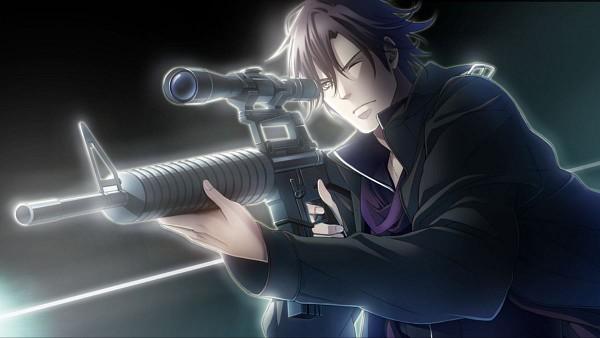 Tags: Anime, Omerta ~Chinmoku no Okite~, J.J, Machine Gun