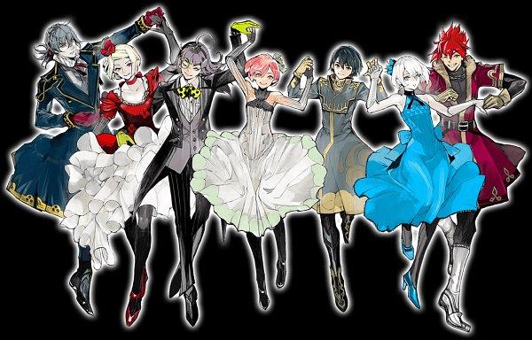 Tags: Anime, Ishida Sui, BROCCOLI, JACKJEANNE, Shirota Mitsuki, Neji Kokuto, Mutsumi Kai, Yonaga Soushirou, Takashima Sarafumi, Orimaki Suzu, Tachibana Kisa, Official Art
