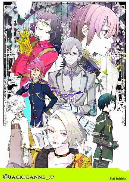 Tags: Anime, Ishida Sui, BROCCOLI, JACKJEANNE, Neji Kokuto, Mutsumi Kai, Yonaga Soushirou, Takashima Sarafumi, Orimaki Suzu, Tachibana Kisa, Shirota Mitsuki, Twitter, Official Art