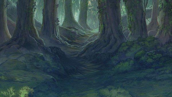 Tags: Anime, BROCCOLI, JACKJEANNE, Background Art, Official Art