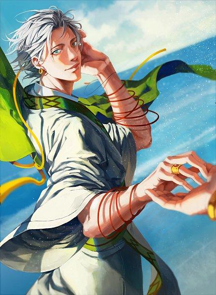 Tags: Anime, C P .Ieng, MAGI: The Labyrinth of Magic, Ja'far