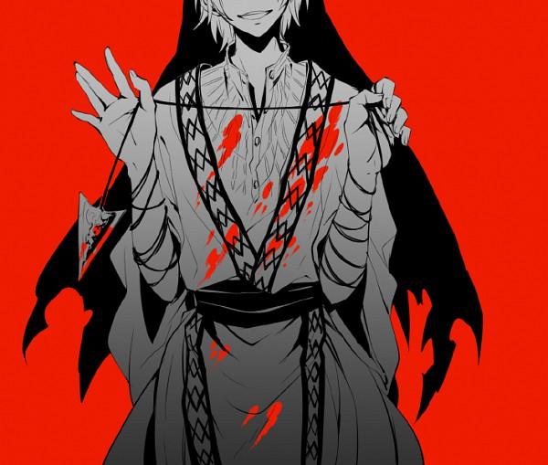 Tags: Anime, Hakyo, MAGI: The Labyrinth of Magic, Ja'far, Assassin, Pixiv, Fanart