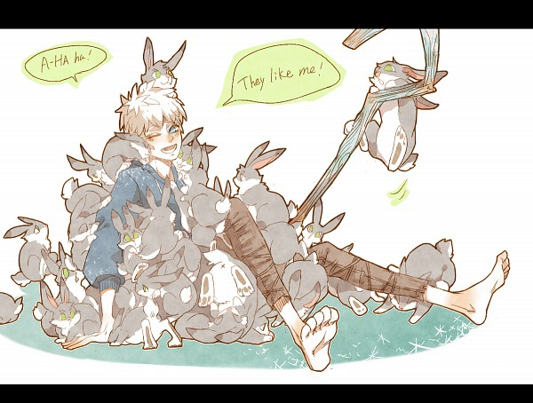 Tags: Anime, Tori (Pixiv3599155), Rise of the Guardians, Jack Frost, Fanart From Pixiv, Pixiv, Fanart