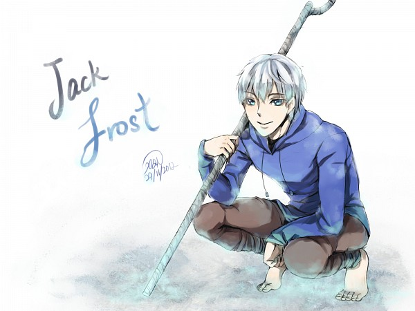 Tags: Anime, Clivef, Rise of the Guardians, Jack Frost, Pixiv, Wallpaper, Fanart, Fanart From Pixiv