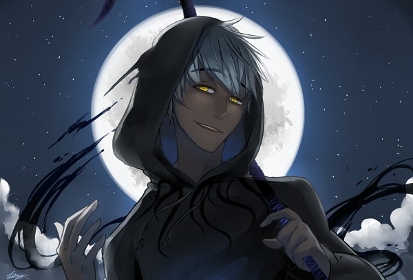 Tags: Anime, Vs41123, Rise of the Guardians, Alternate Skin Color, Black Hoodie, Fanart From Pixiv, PNG Conversion, Pixiv, Fanart