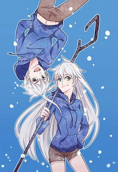 Tags: Anime, Less39, Rise of the Guardians, Jack Frost, Blue Hoodie, Mobile Wallpaper, Fanart From DeviantART, deviantART, Fanart