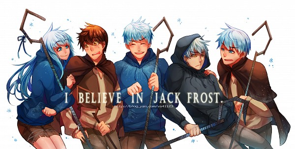 Tags: Anime, Vs41123, Rise of the Guardians, Jack Frost, Blue Hoodie, Hugging Arm, Reverse Harem, Pixiv, Facebook Cover, Wallpaper, Fanart From Pixiv, Fanart, PNG Conversion