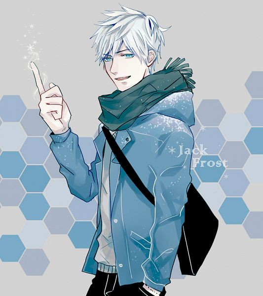 Tags: Anime, GUI, Rise of the Guardians, Jack Frost, Honeycomb Pattern, PNG Conversion, Pixiv, Fanart, Fanart From Pixiv