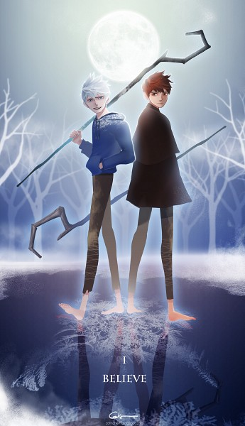 Tags: Anime, Coln, Rise of the Guardians, Jack Frost, Blue Hoodie, Fanart From Pixiv, deviantART, Pixiv, Fanart From DeviantART, Fanart, Mobile Wallpaper