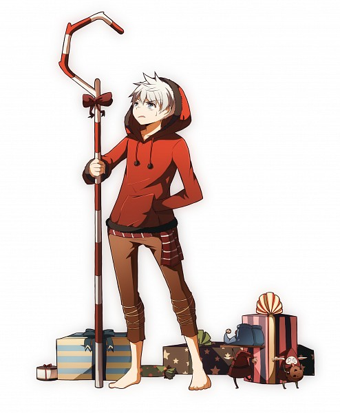 Tags: Anime, Jolly Jumpin Jellyfishes, Rise of the Guardians, Jack Frost, North (Cosplay), PNG Conversion, Pixiv, Fanart, Fanart From Pixiv