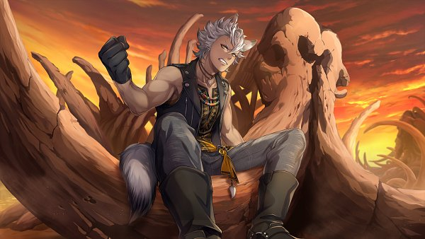 Tags: Anime, Toboso Yana, f4samurai, Twisted Wonderland, Jack Howl, CG Art