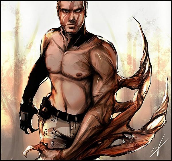 Jack Krauser - Resident Evil