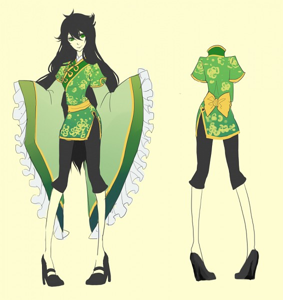 Tags: Anime, Berrycoat, Homestuck, Jade Harley, Fanart, Tumblr