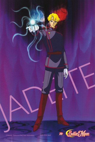 Tags: Anime, Toei Animation, Bishoujo Senshi Sailor Moon, Jadeite, Official Art, Scan