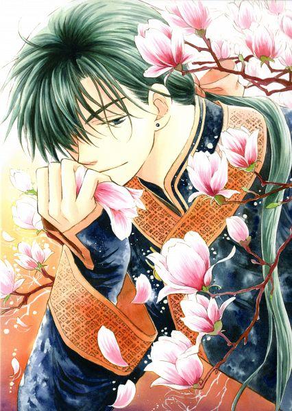 Tags: Anime, Kusanagi Mizuho, Akatsuki no Yona, Jae-Ha (Akatsuki no Yona), Official Art, Mobile Wallpaper, Scan