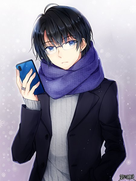Tags: Anime, Tommy Walker Id 00702, TOMMY WALKER, Jaeger Sixth, Holding Phone, Mobile Wallpaper