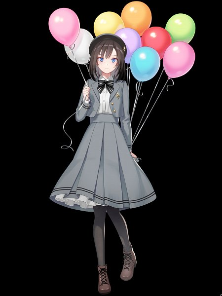 Tags: Anime, KB (Pixiv1586525), TOMMY WALKER, Jaeger Sixth, Gray Skirt, Mobile Wallpaper