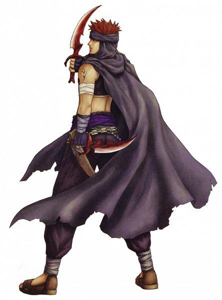 Tags: Anime, Fire Emblem: Rekka no Ken, Jaffar (Fire Emblem), Official Art