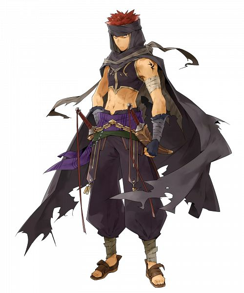 Tags: Anime, Kusugi Toku, Intelligent Systems, Fire Emblem Heroes, Jaffar (Fire Emblem), PNG Conversion, Official Art, Cover Image