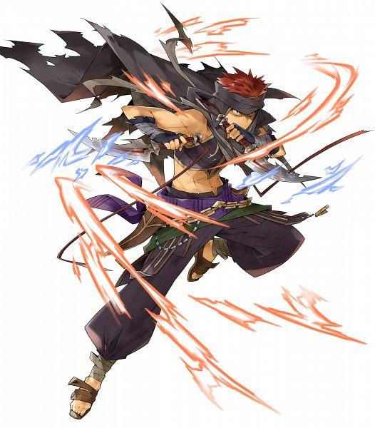 Tags: Anime, Kusugi Toku, Intelligent Systems, Fire Emblem Heroes, Jaffar (Fire Emblem), PNG Conversion, Official Art